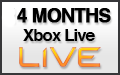 4 Month Xbox Live